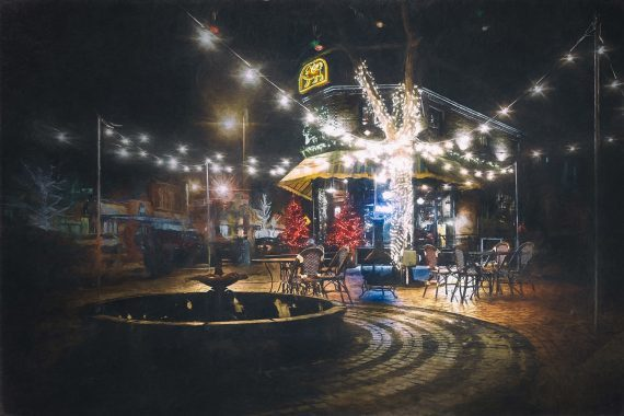 Cafe Winter Solstice