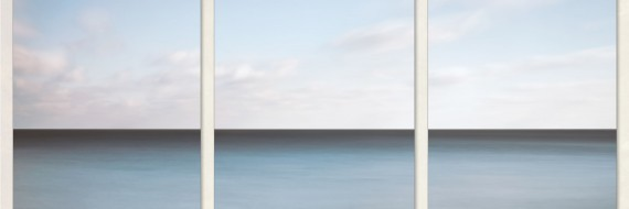Lake Michigan Minimalist Triptych