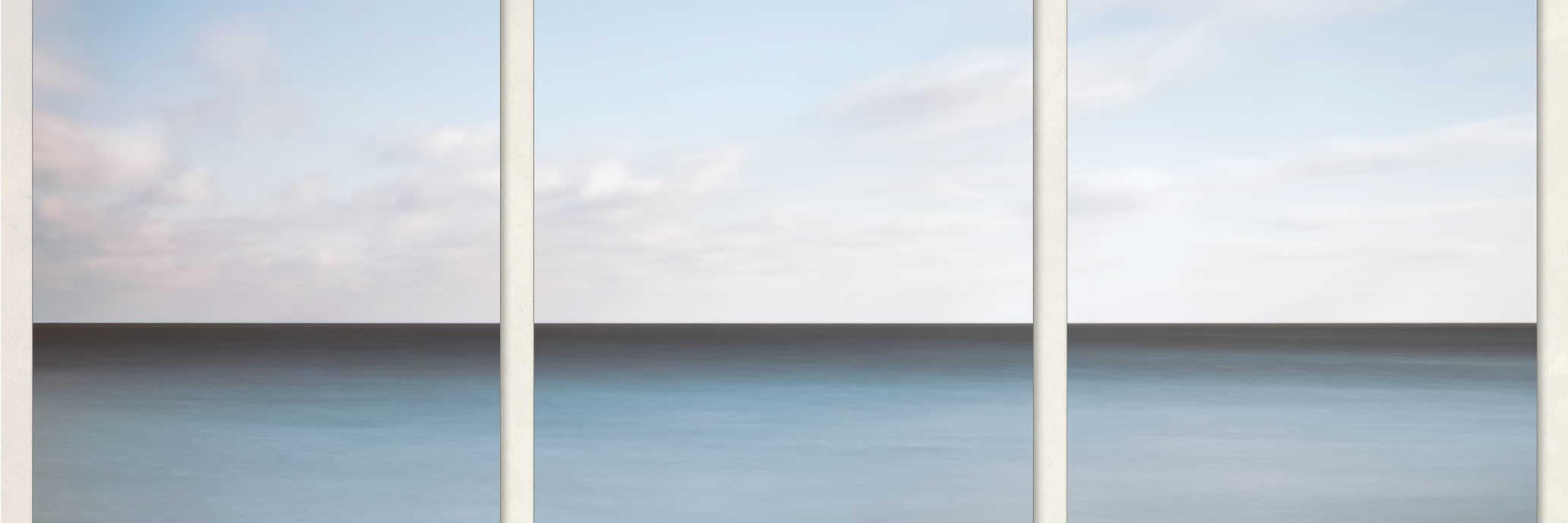 Lake Michigan Minimalist Triptych