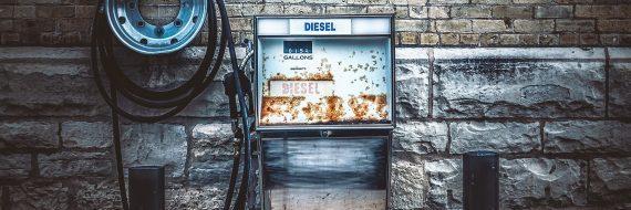 Alley Gas Pump
