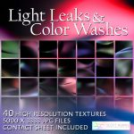 Light Leaks and Color Wash Textures