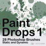 Paint Drops 1